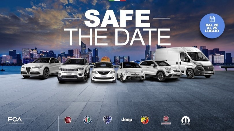 Safe the Date, la promozione Mopar e FCA Bank per l'estate