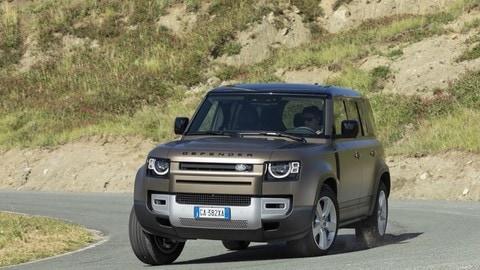 Prova Land Rover Defender 110 FOTO