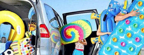 Top 7 regole per viaggiare in auto d'estate coi bimbi
