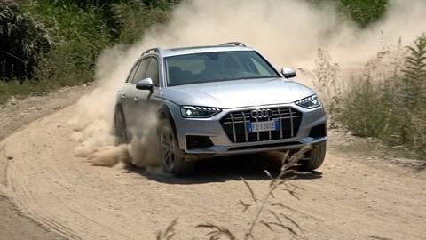 Audi A4 Avant Allroad 40 TDI, la prova: VIDEO