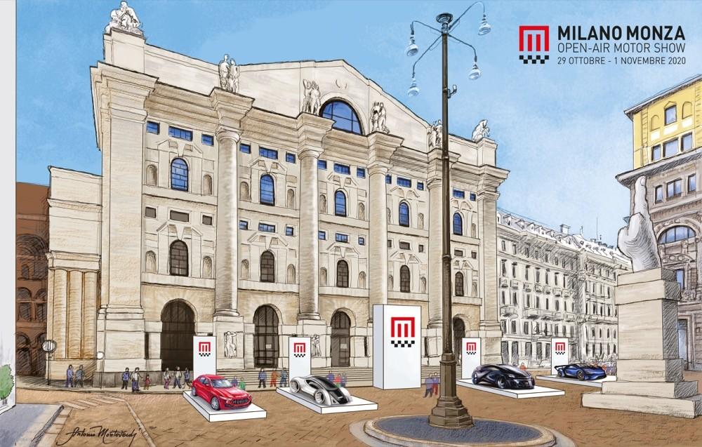 Milano Monza Motorshow, Piazza Duomo vetrina della manifestazione