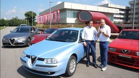 Alfa Romeo 156 VIDEO