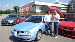 Alfa Romeo 156 VIDEO