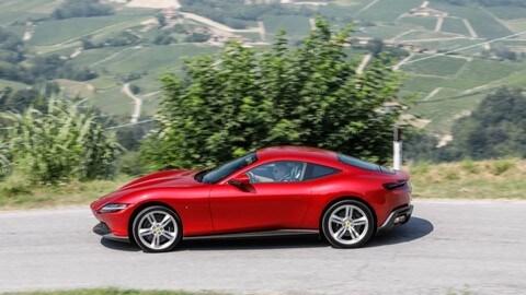 Ferrari Roma, la prova: FOTO