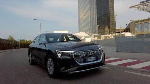 VIDEO Audi e-tron Sportback 55 quattro alla prova
