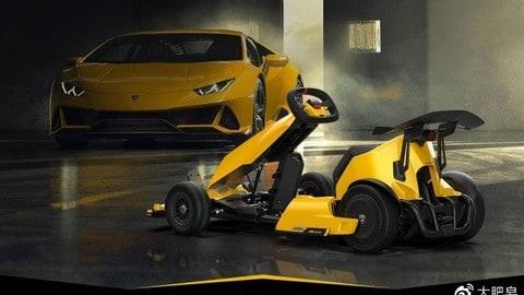 Xiaomi Ninebot GoKart Pro Lamborghini Edition FOTO