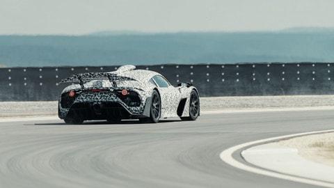 Mercedes-AMG One, test in pista FOTO