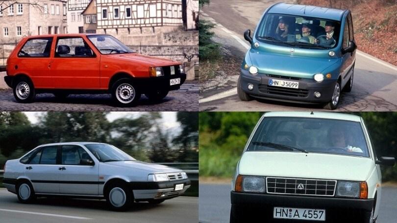 Romiti, ecco le auto nate durante la sua presidenza Fiat