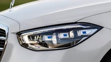Nuova Mercedes Classe C, sfuggito il design del frontale