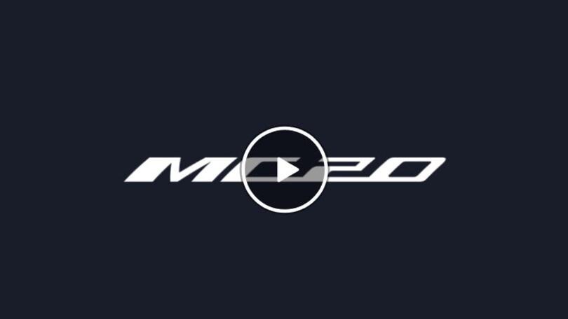 Maserati MC20, seguite la presentazione in diretta