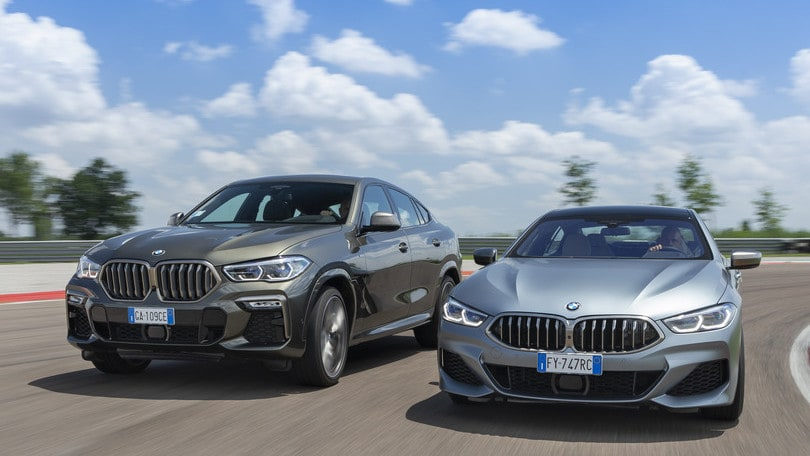 BMW X6 vs BMW Serie 8 Gran Coupé: super SUV o super coupé?