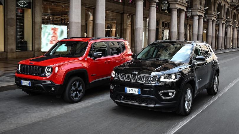 Jeep Renegade e Compass ibride si guidano in abbonamento con CarCloud