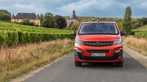 Prova Opel Zafira-e Life FOTO