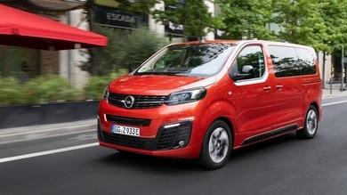 """Opel Zafira-e Life: la """"over 5"""" in versione full-electric"""