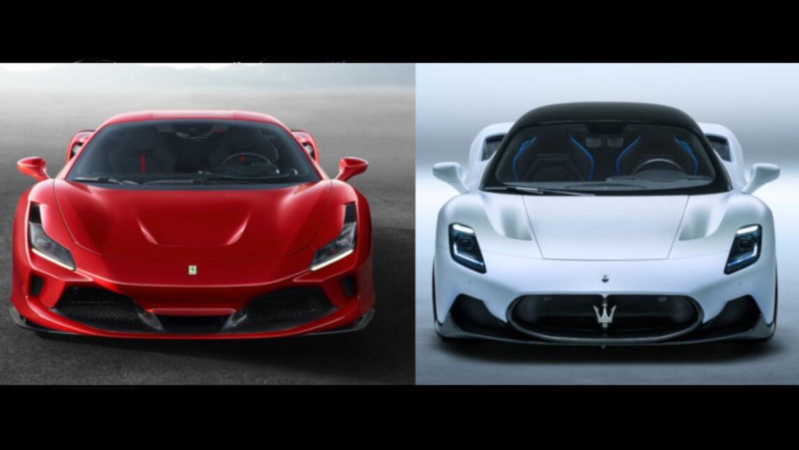 Ferrari F8 Tributo vs Maserati MC20: strade diverse per ...