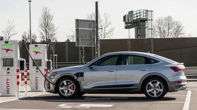 Audi e-tron Sportback 55 quattro, Regina elettrica