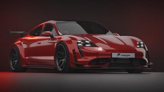 Porsche Taycan, estrema e sportiva con Prior Design