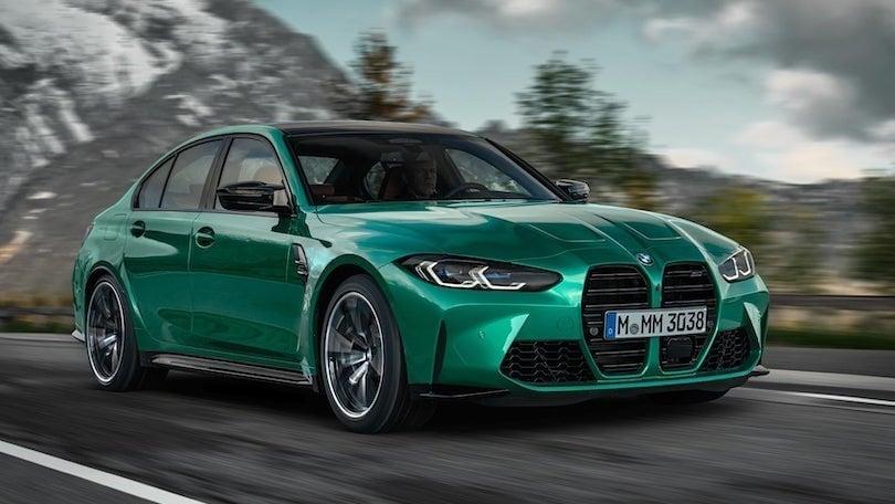Nuova BMW M3 e M4, il design non ha più segreti