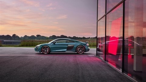 Audi R8 green hell: nata nell'Inferno Verde FOTO
