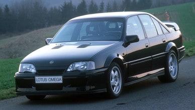 Opel Omega Lotus: la sua storia