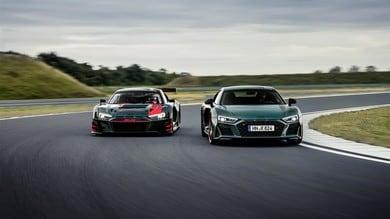 Audi R8 Green Hell: verde possente per 0-100 km/h in 3,1 secondi