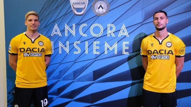 Udinese e Dacia: matrimonio fino al 2023 coronato dalla terza maglia della stagione 2020-21