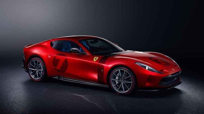 Ferrari Omologata, ispirata dalla storia con il V12 della 812 Superfast