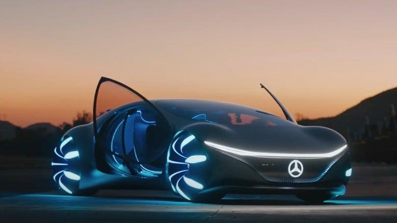 Vision AVTR, come Mercedes vede il domani su strada dell'auto