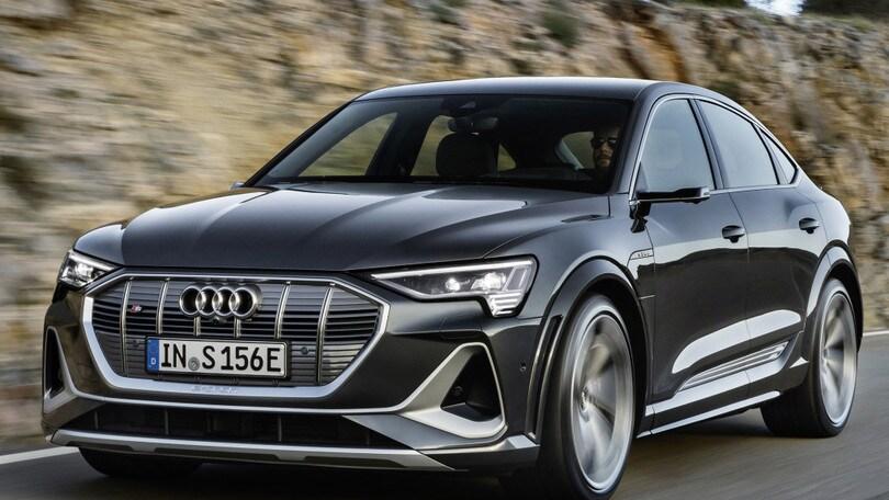 Audi e-tron Sportback, sfida vinta con l'autonomia