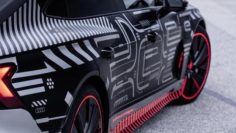Audi e-tron GT, video teaser
