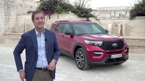 Ford Explorer, debutto in Italia VIDEO