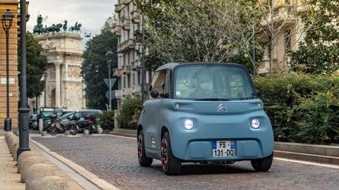 Citroën Ami, la prova FOTO