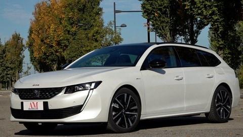 Prova Peugeot 508 SW 1.6 Hybrid: VIDEO
