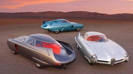 Alfa Romeo B.A.T., le tre concept estreme di Bertone vanno all'asta
