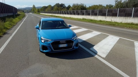 VIDEO: Audi A3 Sportback, il test su strada