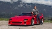 Ferrari F40 di Berger all'asta: quotazioni fino a 1 milione e 210mila euro