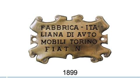 Fiat, tutti i loghi dal 1899 a oggi FOTO