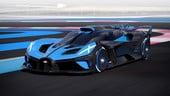 Bugatti Bolide, prestazioni da Formula 1