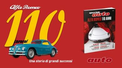 In edicola lo speciale 110 anni Alfa Romeo - una storia di grandi successi