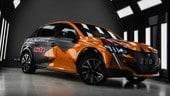 Ecco la nostra Peugeot 208 elettrica per Halloweeninauto