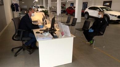 Mazda, concessionarie e officine restano aperte