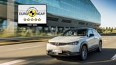 Mazda MX-30, elettrica a 5 stelle secondo i test Euro NCAP