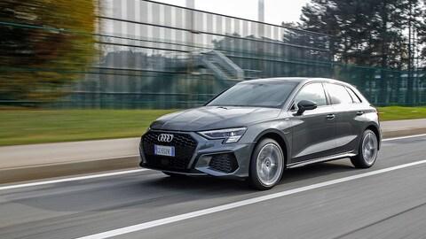 Nuova Audi A3 Sportback TFSI e, prova su strada