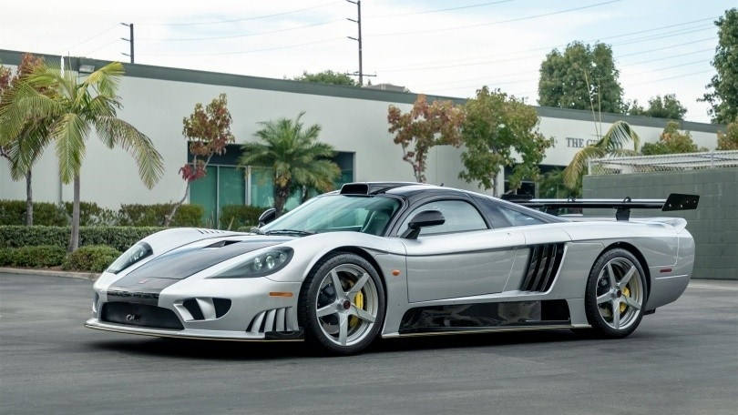 Saleen S7 LM, all'asta la sportiva