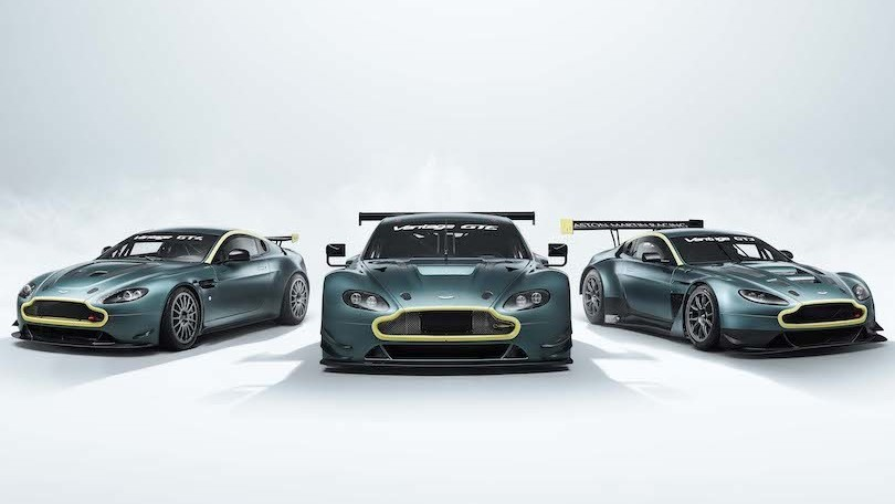Aston Martin Vantage Legacy Collection, un pezzo di storia in garage