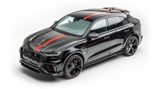 Audi RS Q8, con la cura Mansory sprigiona 780 cv
