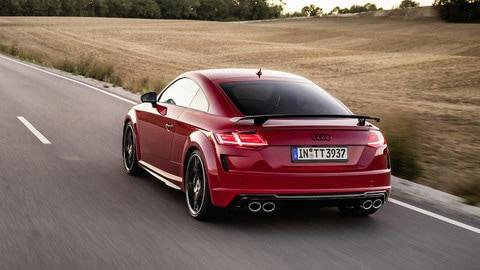 Audi TTS Competition plus e TT bronze selection: foto