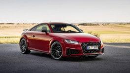 Audi TTS Competition plus e bronze selection, le mille vite della coupé