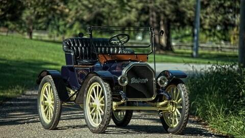 Baker, il primo Costruttore di auto elettriche: FOTO