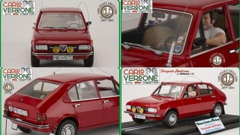 """Carlo Verdone, """"Infinite Statue"""" crea una collezione dedicata alle auto dei suoi personaggi FOTO"""